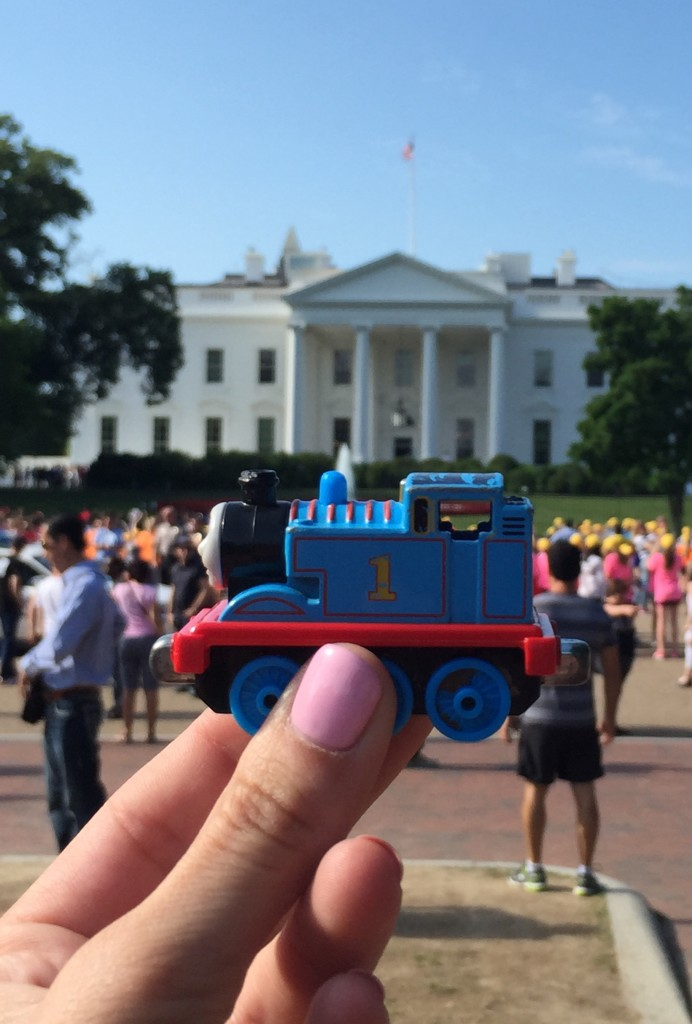 Thomas at the White House